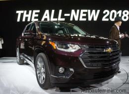Les nouveaux Chevrolet Traverse et GMC Terrain2018présentés à Détroit