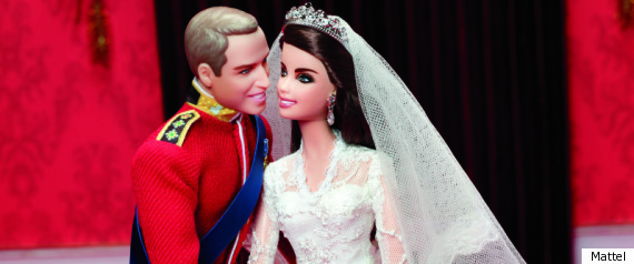 Duchess Of Cambridge Mattel Barbie Doll