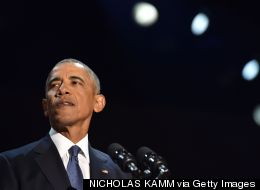 Obama Tells Anxious America To Be Hopeful In Emotional Farewell