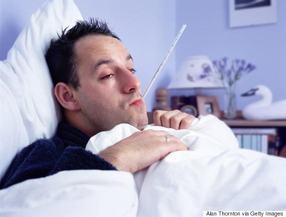 man flu bed