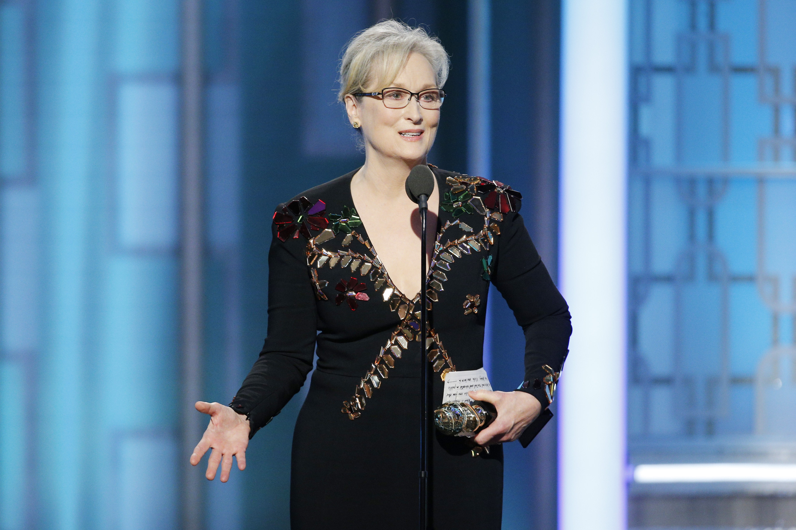 meryl streep speech