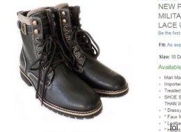 Mann kauft neue Schuhe und verbreitet unfreiwillig Hakenkreuze - Video