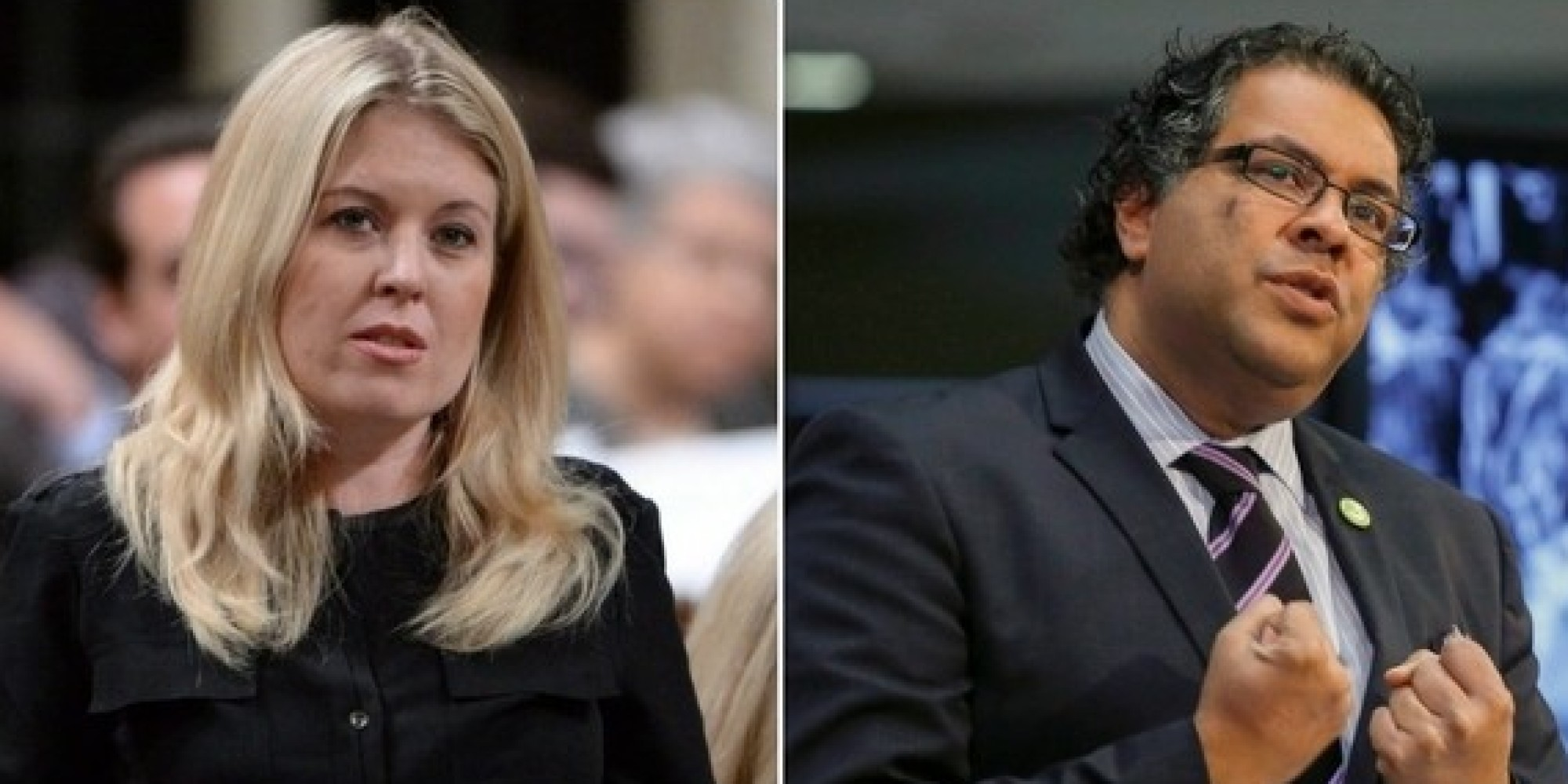 MP Michelle Rempel And Naheed Nenshi Spar Over 'Mansplaining'