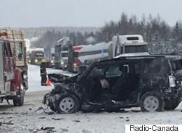 Moins de collisions mortelles au Québec en 2016
