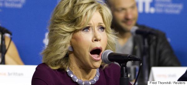 Jane Fonda critique Justin Trudeau sur ses promesses