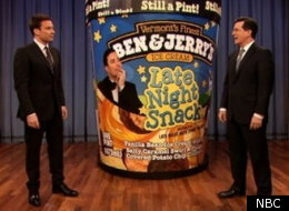Colbert Fallon Ice Cream