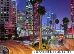 12K 타임랩스로 찍은 L.A.의 낮과 밤(영상)