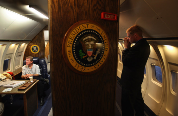 inside air force one obama
