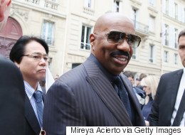 Steve Harvey Thinks It's Hilarious People Date Asian Men. Ugh.