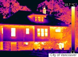 Vancouver Is Now Scanning To Find Homes That Suck Energy