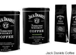 잭 다니엘 위스키 향 커피가 판매된다