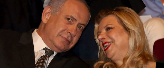 NETANYAHU HIS WIFE