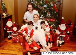 Céline Dion's Twin Boys Shed Their Long Locks