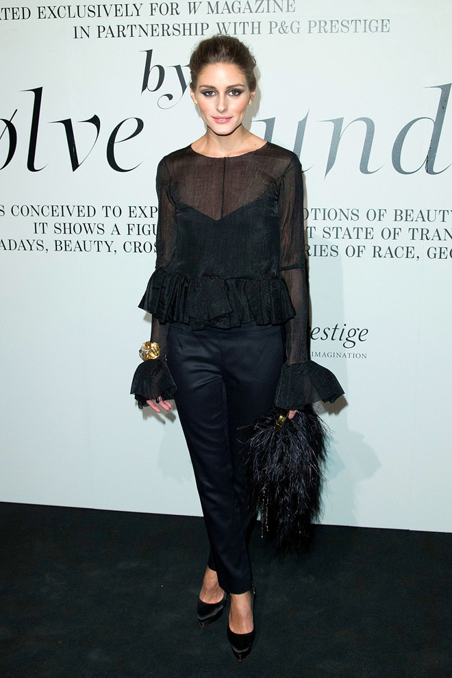 Olivia Palermo In Rochas Look Of The Day