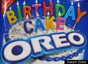 Birthday cake Oreos started rolling out nationally last week, and will ...