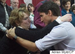 Tearful Grandmother Presses Trudeau On His Carbon Plan