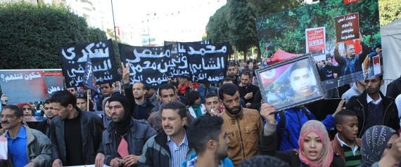 INJURIED REVOLUTION TUNISIA