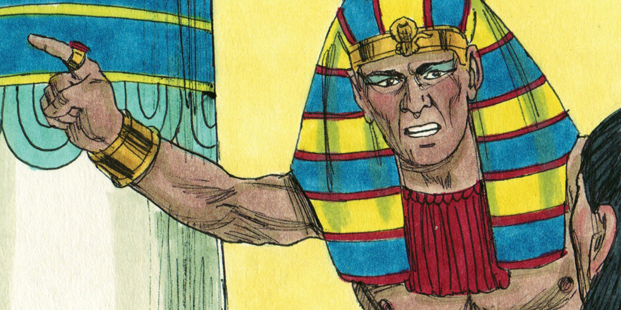 فرعون تعلمت عشرا