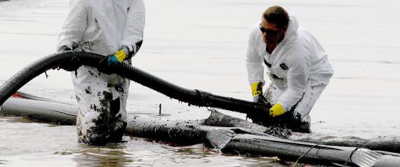 OIL SPILL LAKE