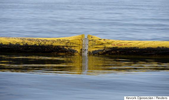 oil pipeline water