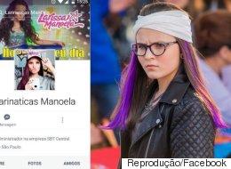 Perfil falso de fã clube da Larissa Manoela é usado pra pedofilia