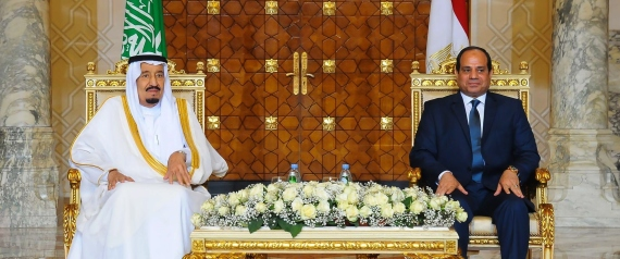 KING SALMAN AND SISI