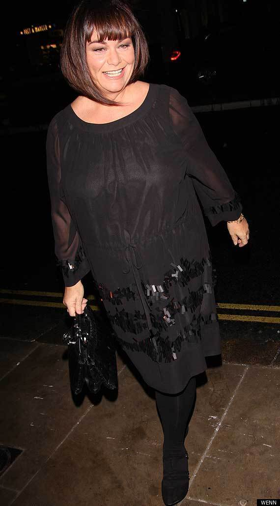 Dawn French Weight Loss and the weight has nothing