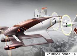 Η Airbus υπόσχεται «ιπτάμενα ταξί» μέχρι το τέλος του 2017