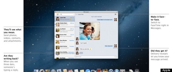 Apple Osx Messages