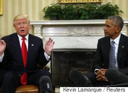 오바마가 트럼프처럼 트위터를 한다면?