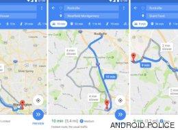 Google Maps también nos dirá si hay aparcamiento