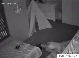 Cuando consigues dormir a tu bebé, haces lo que sea para no despertarlo