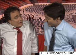 Trudeau Joins '22 Minutes' To Definitely Not Talk About Bahamas Vacation