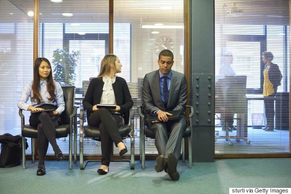 diverse job interview