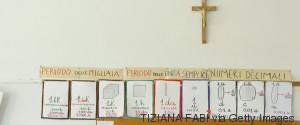 crucifix in school