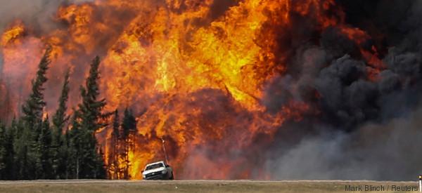 L'incendie à Fort McMurray a coûté près de 8,9 milliards $