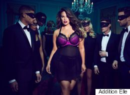 Ashley Graham Models The Sexiest Valentine's Day Lingerie