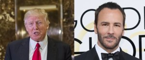TOM FORD DONALD TRUMP
