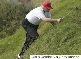 트럼프의 골프 사진이 11년 만에 빛을 본 이유