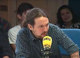 Pablo Iglesias habla venezolano en 'La Vida Moderna'