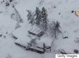 'Help, We're Dying Of Cold': Avalanche Buries Hotel In Italy