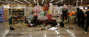 Looting Supermarket
