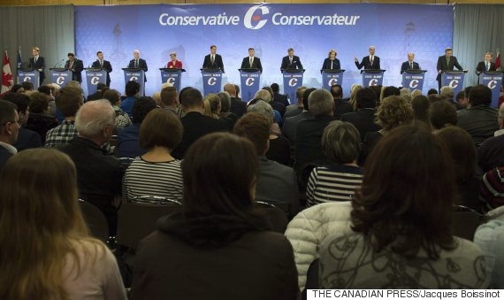 conservative leadership race