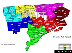 Detroit City Council Districts