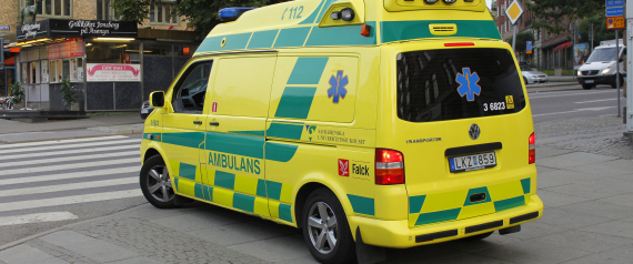AMBULANCE SWEDEN