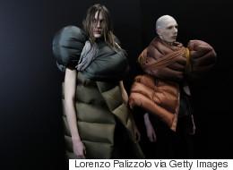 À la Semaine mode homme 2017 de Paris, des «mannequins-sacs de couchage» ont défilé
