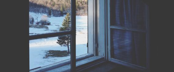 COLD OPEN WINDOW WINTER