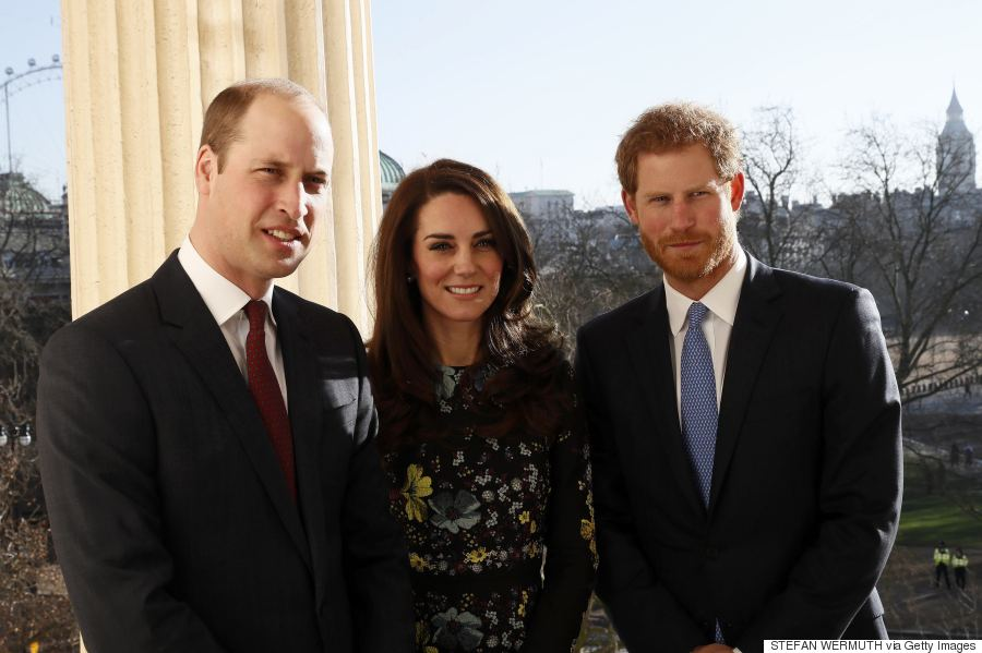 william catherine and harry