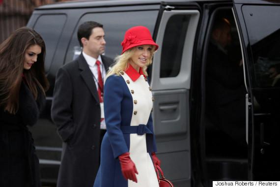 kellyanne conway inauguration