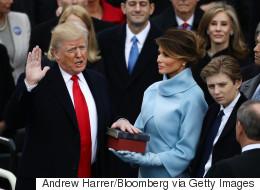 It Happened: He's President Trump Now
